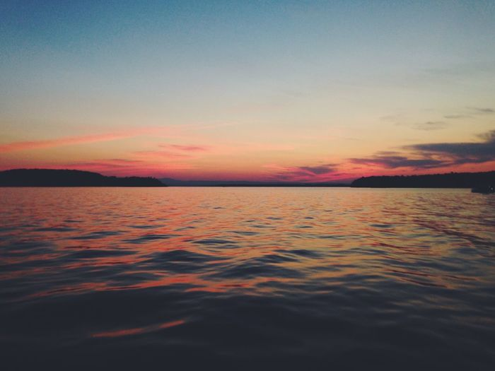 The Great Outdoors - 2016 EyeEm Awards Vermont Lake Sunset Relaxing