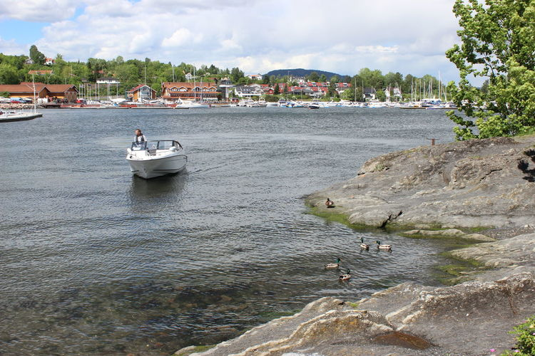 Boat Coastline Norway Oslofjord Sea Sea Life Seascape Seaside An Eye For Travel