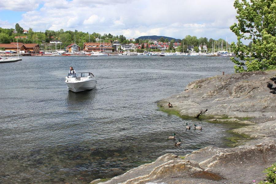 Boat Coastline Norway Oslofjord Sea Sea Life Seascape Seaside An Eye For Travel