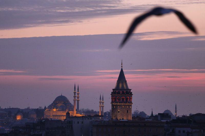 Galata Tower Galata Tower Istanbul Turkey