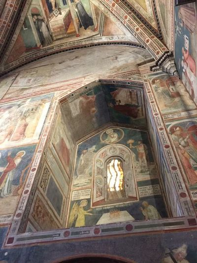 Duomo E Cappella Di San Brizio Religion Low Angle View Place Of Worship Ceiling Indoors  Spirituality Architecture Travel Destinations No People History Day Fresco Umbria, Italy Architecture And Art Fresco Paintings Spirituality Frescoes Umbria Umbria_italia Italy🇮🇹