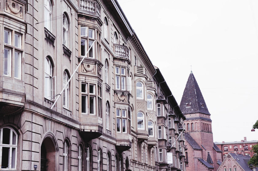 Architecture Building Building Exterior Built Structure City City Life Day Façade Low Angle View No People Outdoors Travel Destinations