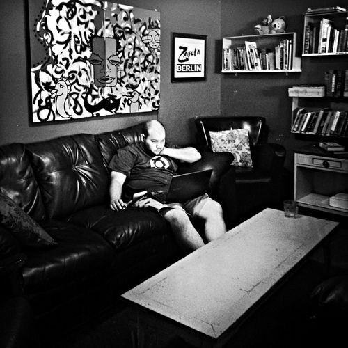 Green Lantern Coffee Shop Scene Bw_portraits AMPt_community NEM Black&white
