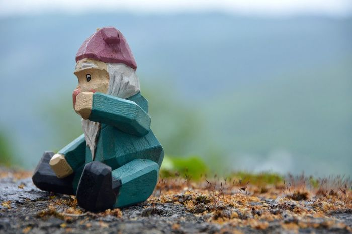 Gnome Human Representation No People Toy Figurine  Close-up Focus On Foreground Childhood Day Outdoors