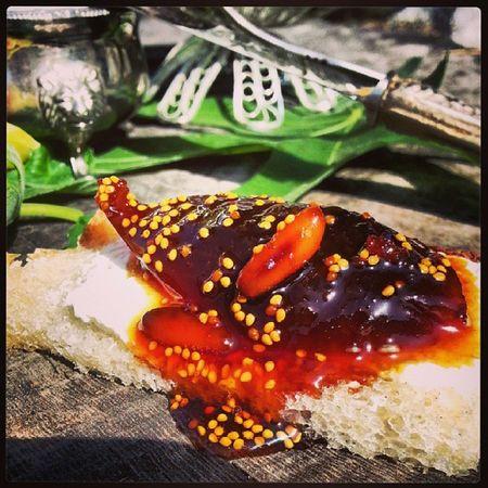 Karamelize şeker ve fıstık eşliğinde incir reçeli. ... Pastalinmutfagi Recel Yemekblog Yemekfotografciligi lezzet köy Kahvalti breakfast incir keyf pastalin @sertabbah