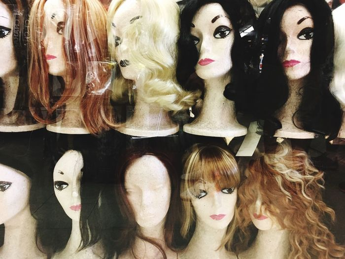 Choice Human Representation Variation Representation Female Likeness No People Store Display Arrangement Shopping Mannequin Retail  For Sale Large Group Of Objects Fashion Still Life Indoors  Collection Retail Display Art And Craft
