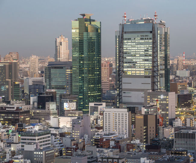 View of Tokyo metropolitan area at dusk. Architecture Architecture Battle Of The Cities Building Exterior Built Structure City City Lights Cityscape Compact Development Dusk Japan Metropolitan Model Modern Night Packed Skyscraper Tall - High Tokyo Tower Urban Urban Skyline