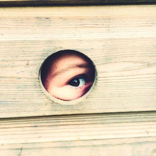 Eye Hiding