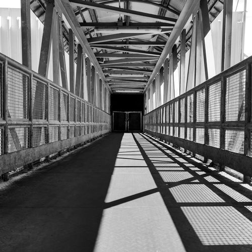 View of elevated walkway