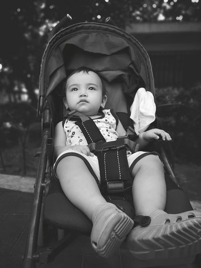 Someday when I grow up Stroller Imagination Baby Face Boy EyeEm Selects A New Beginning EyeEmNewHere Tree Child Childhood Full Length Sitting Togetherness Portrait Warm Clothing Bonding 50 Ways Of Seeing: Gratitude The Modern Professional This Is Natural Beauty A New Perspective On Life The Portraitist - 2019 EyeEm Awards The Mobile Photographer - 2019 EyeEm Awards