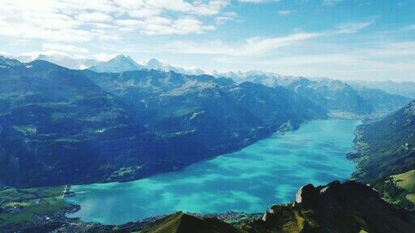 Interlaken Brienz Switzerland The Alps Swissmade Swiss Countrylife Love Nature Eye Em Nature Lover Hikingadventures Sightseeing Buzzing What I Live For  Luvit 💘💘
