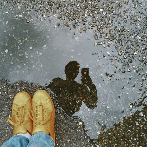 Rainy saturday situation with me! Puddlegram Puddleportrait Puddleselfie Puddle