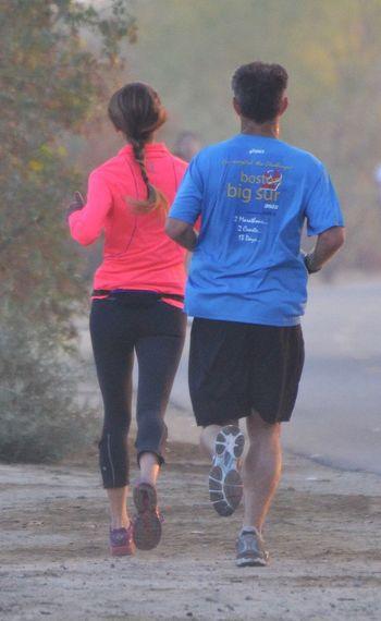 Living Life jogging