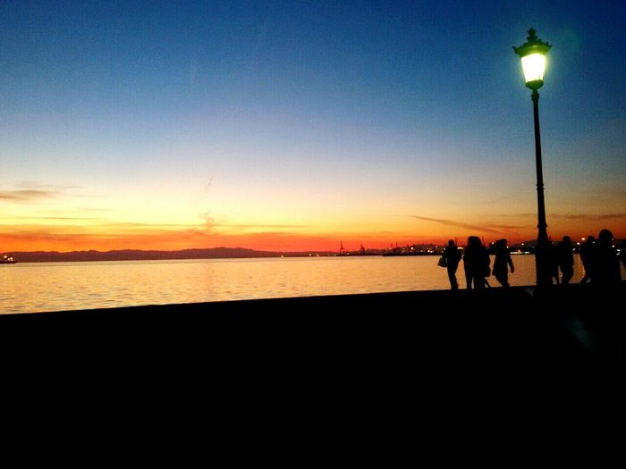 Missing Home Sweet Home Thessaloniki Seaside Sunset Relaxing When I'm Feeling Blue There Is No Place Like Thessaloniki