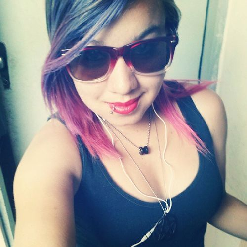 And Nothing Else Matters... InstaMetallica Metallica Love Glasses hairpink Hair coloredhair