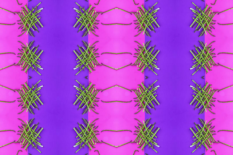 Full Frame Pattern No People Plant Backgrounds Blue Green Color Close-up Design Nature Indoors  Growth Digital Composite Day Arrangement Freshness Creativity Beauty In Nature Studio Shot Floral Pattern Purple