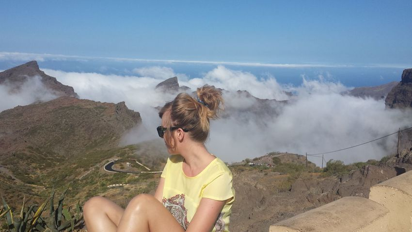 Tenerife Canary Islands Clouds And Sky Holidays In Spain