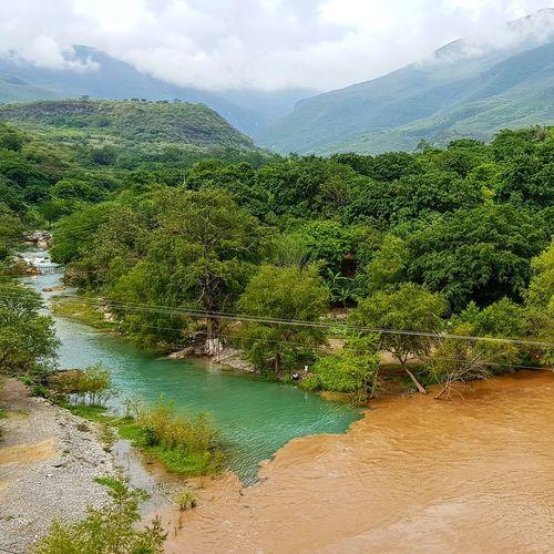 Unió de 2 ríos de San Luis Potosí, Mx. Beauty In Nature Landscape Outdoors Water Nature Scenics First Eyeem Photo