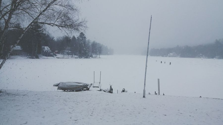 Winter Snow Weather Cold Temperature Outdoors Tranquility Frozen