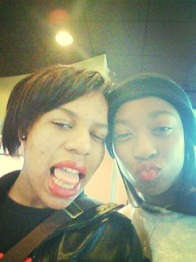 My bff and i being ugly