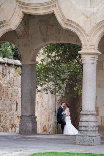 Just Married and entirely alone Architecture Built Structure Arch Women Adult Architectural Column Lifestyles Standing Couple - Relationship Young Adult Real People Love Positive Emotion Outdoors The Street Photographer - 2018 EyeEm Awards