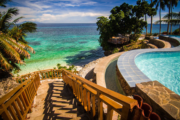 Anda Beach Beauty In Nature Chill Day Horizon Over Water Nature No People Outdoors Phillipines Pool Railing Relax Sea Sky Vacations Water Traveling Home For The Holidays
