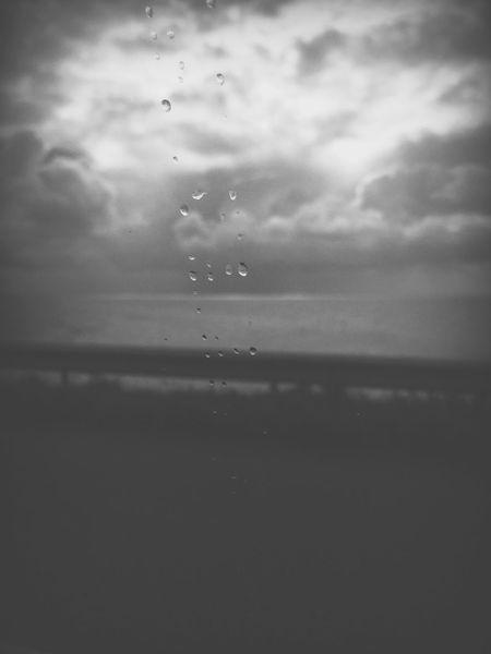 The Week On EyeEm Water Drop Sky Nature No People Beauty In Nature Cloud - Sky Outdoors Day Fragility Close-up Rain Raindrops Car Window Afsluitdijk Netherlands Nederland Beautiful Grey Summer