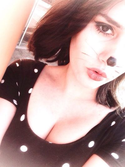 Miau again😉 Karneval Cat♡ Polka Dots  Nosey Haha Miau Were Awesome.