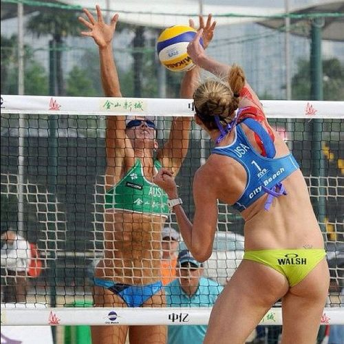 USA Volleyball is awesome. Kerrywalsh