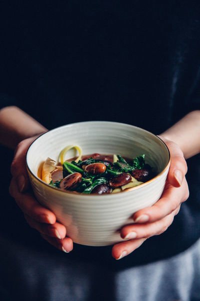 Bowl Food Food And Drink Healthy Eating Holding Ready-to-eat Soup Vegetable