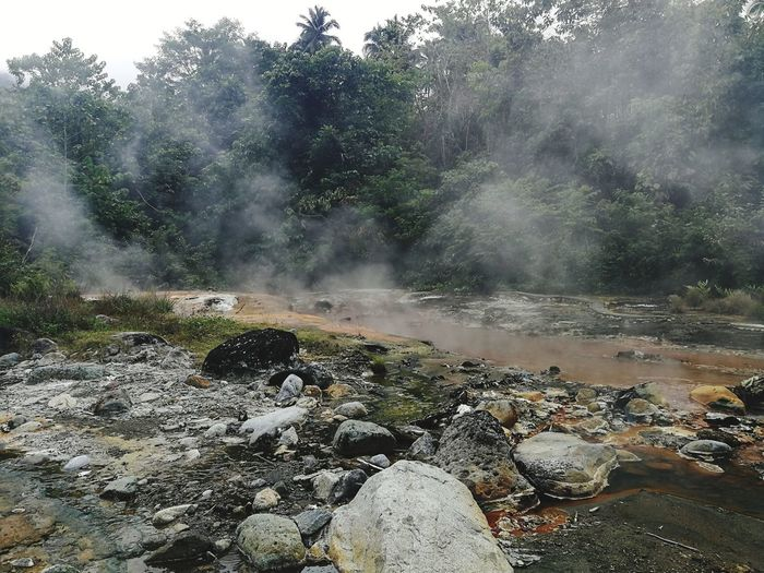 Water Nature Outdoors Beauty In Nature No People Day Scenics Hot Spring Power In Nature Landscape