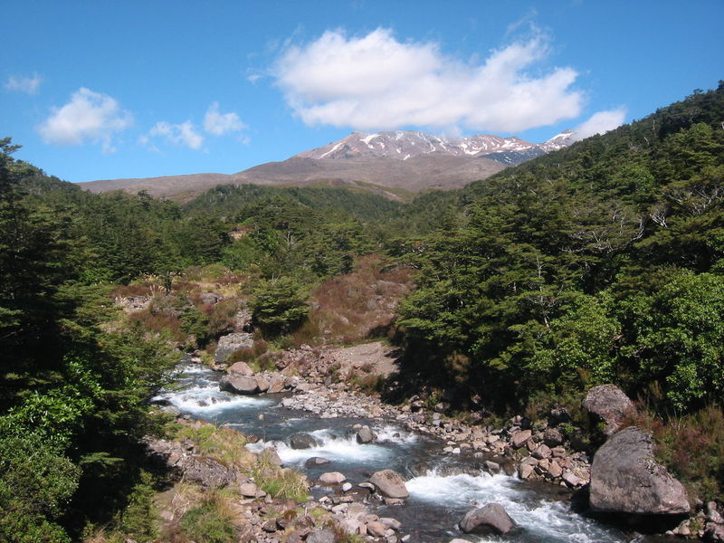 Beauty In Nature Day Landscape Mountain Mountain Range Nature New Zealand No People Outdoors River Scenics Snowcapped Tongariro Travel Vulcano