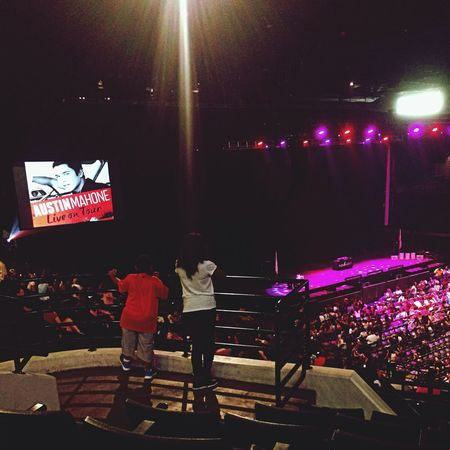 Austin Mahone  Shawn Mendes Concert Fifth Harmony