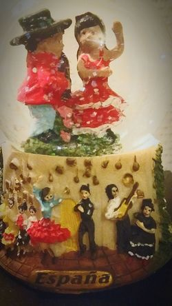 SPAIN Photography Memory Gift Lights Bawl Memory España Dancers Spanish Dancer Holiday Memories Photographic Memory