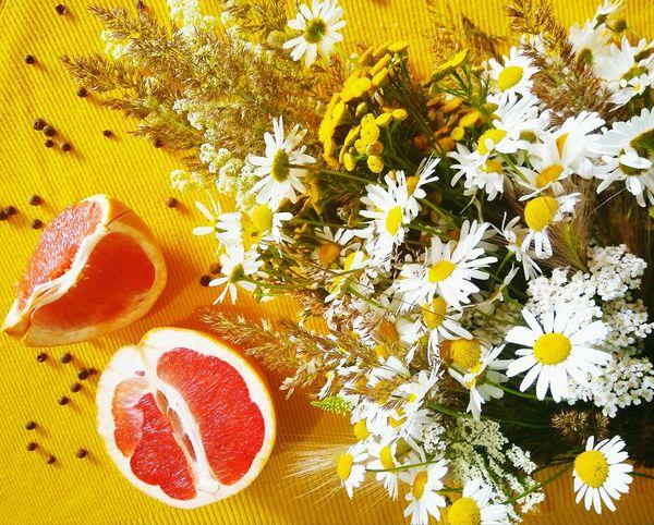 Chamomile Grapefruit Yellow