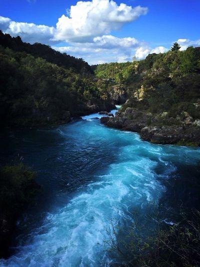 Nature New Zealand Huka Falls