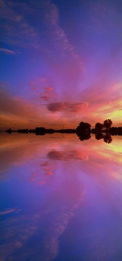 The Reflex Reflections Water And Sky Beautiful Sunset Lucy In The Sky With Diamonds Landscapes With WhiteWall