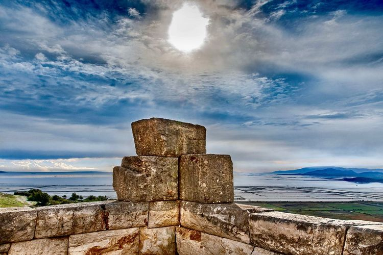 Plevron Lagoon Mesolonghi Greece Light And Shadow Landscape Photography Ancient City Ancient Architecture Ancient Civilization Abandoned Places Sun Architecture Horizon Over Water Nature First Eyeem Photo