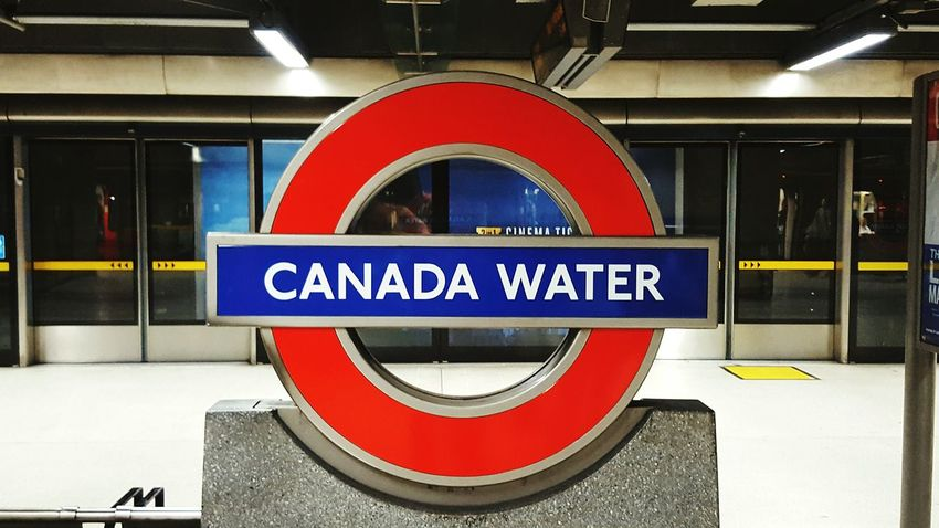 Canada water tubestation Up Close Street Photography London Tube Station  Canada Water Signs City Architecture Check This Out Taking Photos