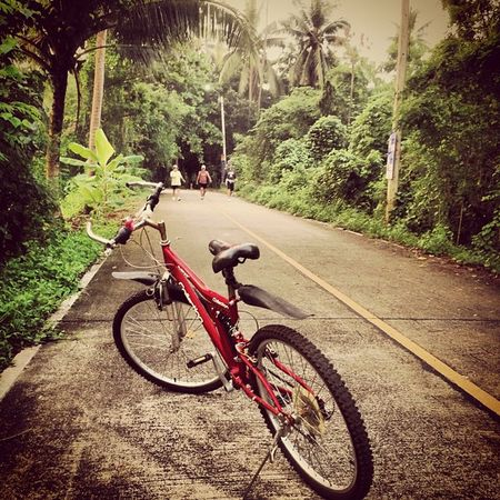 ปั่น จักรยาน บางน้ำผึ้ง เส้นทางวันนี้ bicycle ออกกำลังกาย