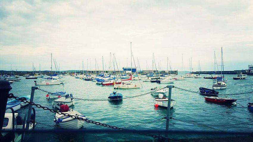 Weekend away :) Cornwall Boats Boats⛵️ Watching The Sea Watching Boats Seaside Uk Weekend Away Blue Sea