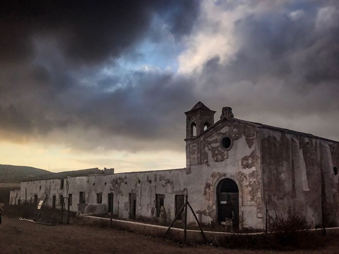 Cloud - Sky Sky Built Structure Architecture Abandoned Building Exterior No People History Outdoors Old Ruin Spirituality Day Lorca Bodas De Sangre EyeEmNewHere The Week On EyeEm