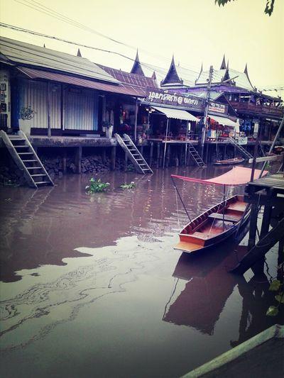 Amphawa  Baanrakamphawa Thailand Marketfloating