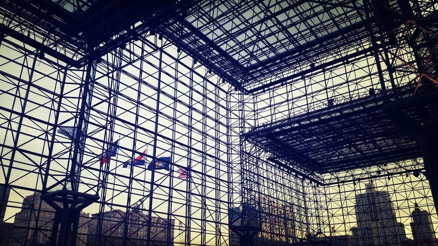 Jacob Javits Architecture Lines New York City