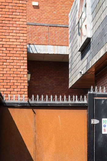 Colchester town centre. Essex Security Architecture Brick Wall Building Exterior Built Structure Colchester Day No People Outdoors Town Centre Window