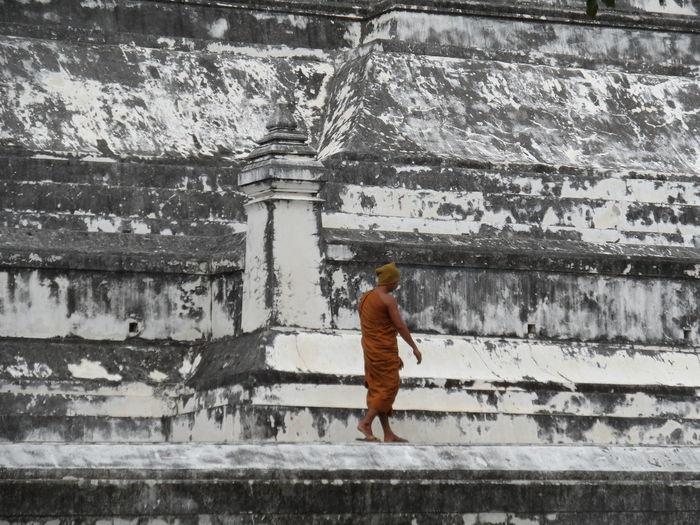 Built Structure Full Length Leisure Activity Lifestyles Monk  Season  Temple Weather