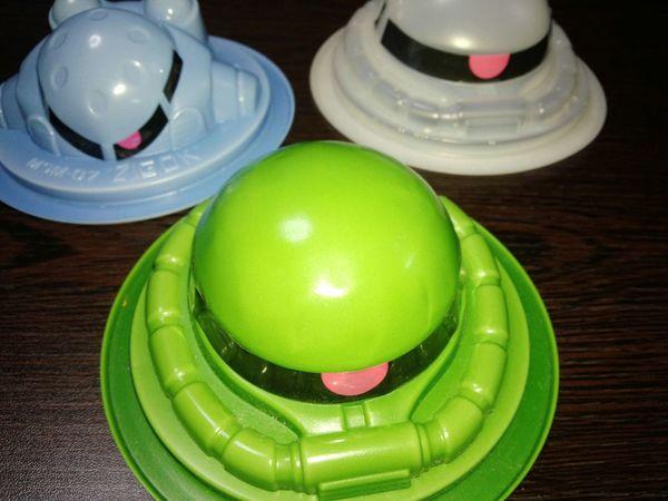 Green Color Gundam Zaku