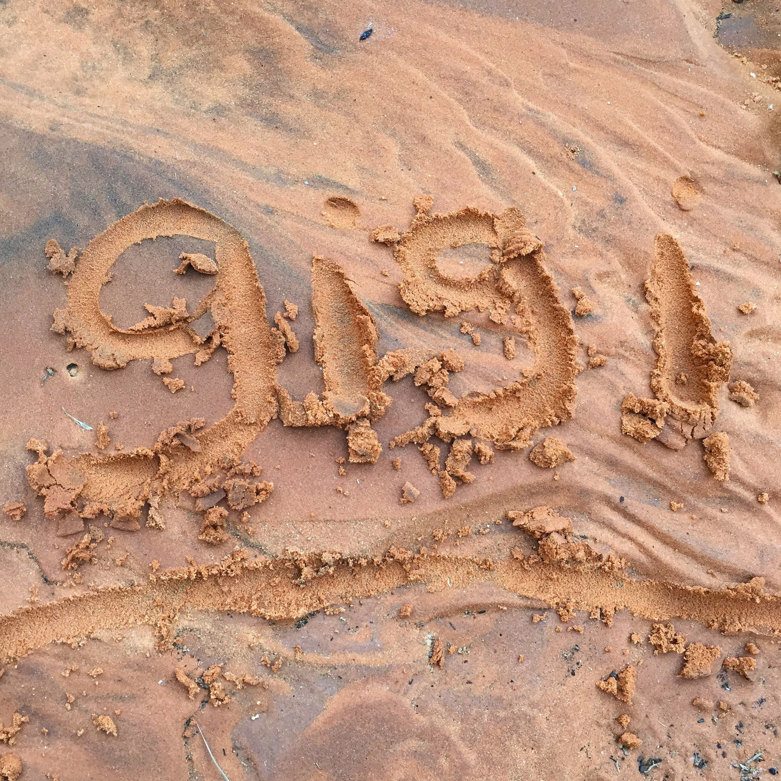 communication, text, western script, beach, sand, capital letter, backgrounds, full frame, footprint, high angle view, outdoors, symbol, message, memories, vacations, creativity, surface level, no people