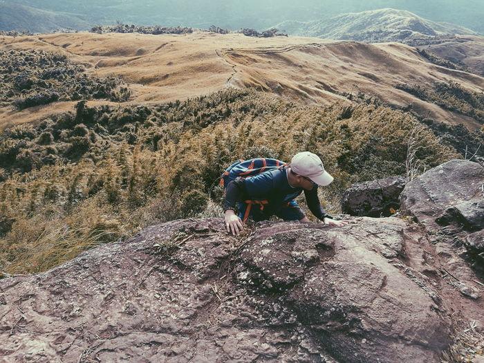 Onto the peak