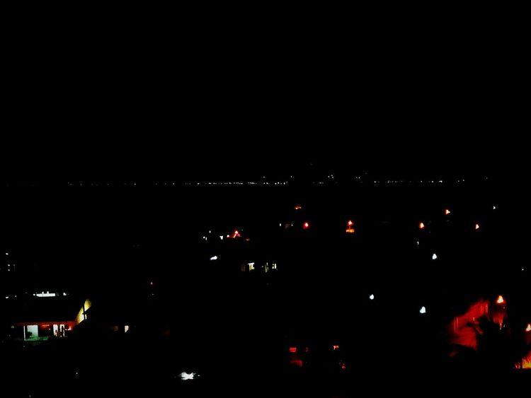 Paquetá night City Illuminated Dark Sky